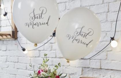 Balony na ślub i wesele
